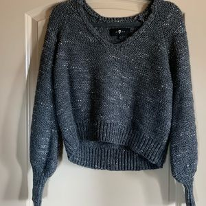 7 For All Mankind Vneck Sweater